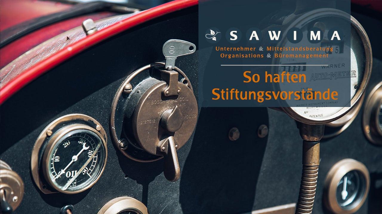 Beitrag_So_haften_Stiftungsvorstände_SAWIMA_Stiftung